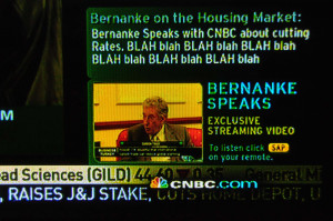 CNBC Quotes Ben Bernanke
