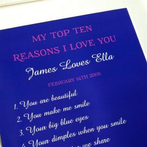 10 reasons why i love you