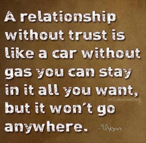 relationship without trust funny quotes