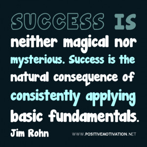 Quotes About Consistency and Success