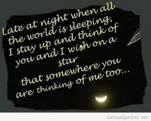 Goodnight quotes sayings for him or her