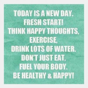 Be healthy and happy