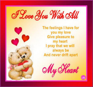 with all my heart images i love you with all my heart images