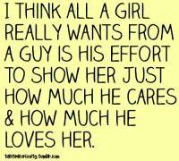 girls #love #relationship #effort