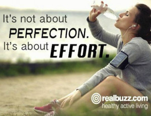 ... quotes because no matter how much we love running, sometimes we all