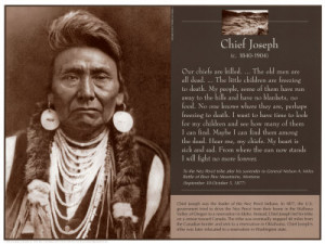 Chief JosephPoster