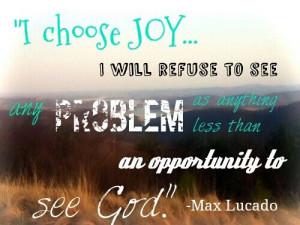 Max Lucado quote