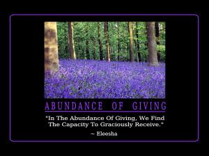 Abundance Quotes and Affirmations by Eleesha [www.eleesha.com]