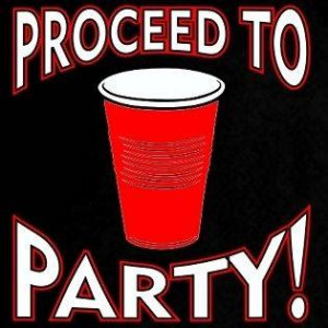 To Party Red Solo Cup My Friend Funny Drinking Beer Pong Tee T Shirt