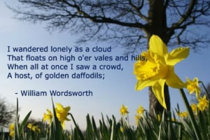 wandered Lonely as a Cloud - W.Wordsworth