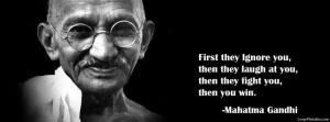 Mahatma Gandhi Facebook Cover