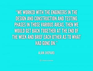 Alan Shepard Quotes