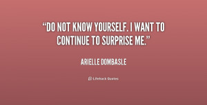 Quotes About Not Knowing Yourself