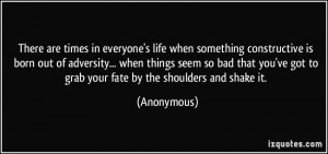 Anonymous Quotes About Life Picture