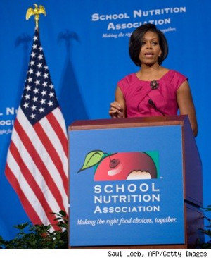 Far From Lightweight: Michelle Obama's Childhood Obesity Fight