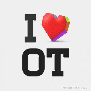 Love Occupational Therapy Badge