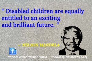 Disabled children are equally entitled to an exciting and brilliant ...