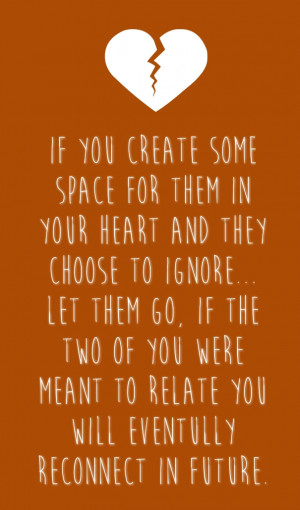 Letting go and Moving on Quotes for Couples