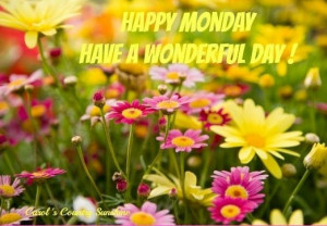 Happy Monday Morning Quotes Happy monday quote via carol's