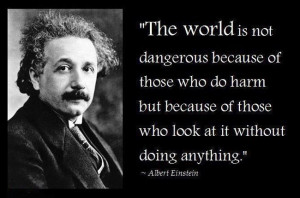 Quote by Albert Einstein Motivational wallpaper on humanity : Quote by ...