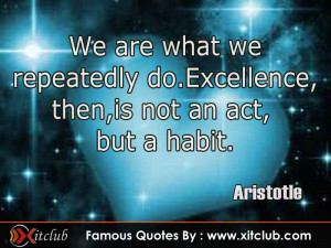 You Are Currently Browsing 15 Most Famous Quotes By Aristotle