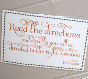 Print out quotes from the movie or book on posters