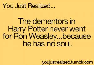 ... harry potter LOL funny mind blown you just realized youjustrealized