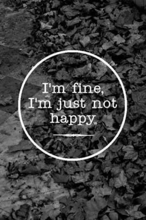 Quotes I'm Fine