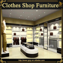 High grand clothing shop interior design and fashion clothes store