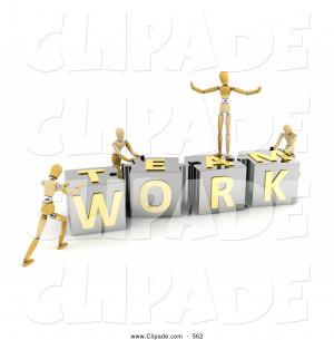 Team Work Clip Art