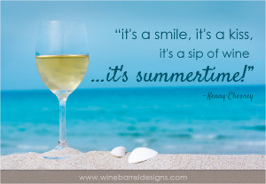 it s a smile it s a kiss it s a sip of wine it s summertime kenny ...