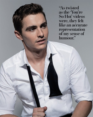 ... neck of one of our favorite guys — Dave Franco. Check out the look