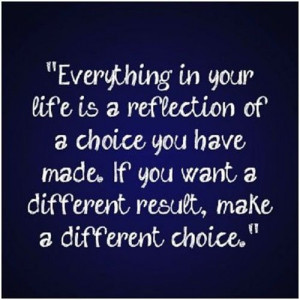 everything-life-reflection-of-a-choice-life-quotes-sayings-pictures ...