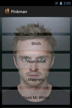 Jesse Pinkman SoundBoard - screenshot