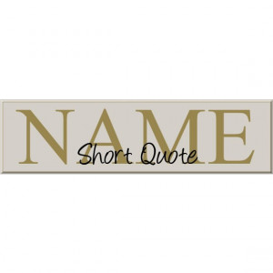 Last Name Family Sign - Add Last Name, Quote, Choose Colors and ...