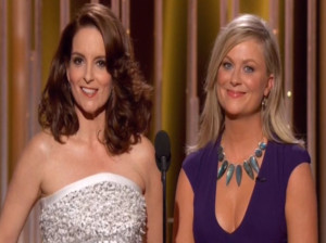 Amy Poehler and Tina Fey didn't make it a minute into their Golden ...