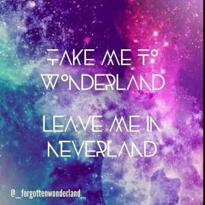 Wonderland/Neverland