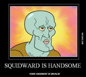 Handsome Squidward.