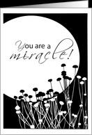 12 Step Recovery Anniversary MIRACLE card - Product #371297