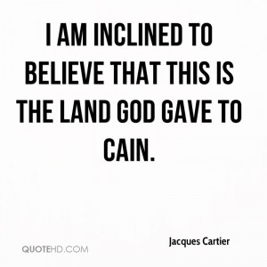Jacques Cartier Quotes