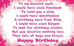 happy birthday auntie quotes