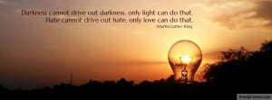 Martin Luther King Quote Facebook Timeline Cover Picture