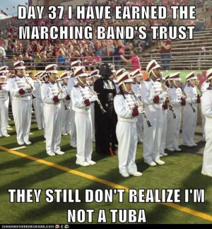 Marching band meets Star Wars