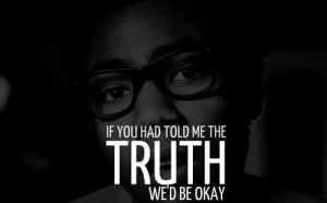 Rapper childish gambino quotes and sayings cute truth deep