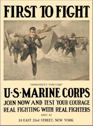 us marines ww1