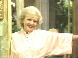 Travel into the world of Rose Nylund, Hold your nose because she just ...