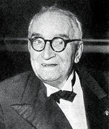 Paul Claudel nel 1954