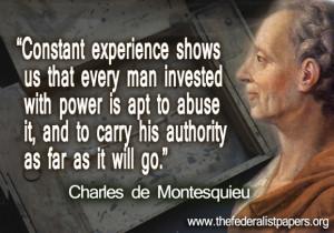 Charles de Montesquieu, Men Who Have Nothing