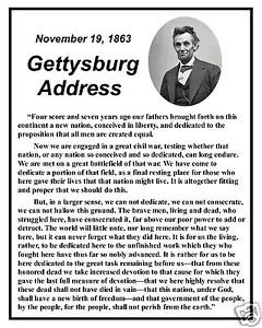 ... -Gettysburg-Address-Famous-Speech-Quote-8-x-10-Photo-Picture-fs2