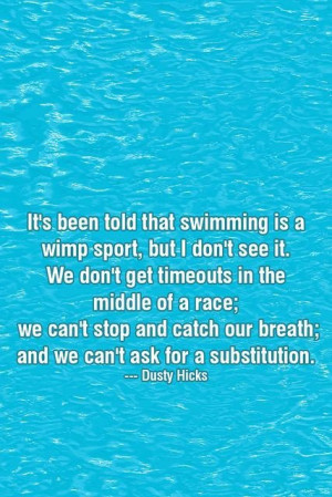 Swimming quotes, sport, best, sayings